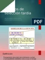 Modelos de Seleccion Tardía
