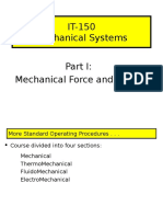 Mechanical Systems I