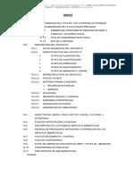 Estudio Ambiental de La Infraestructura Tambo Sillangate