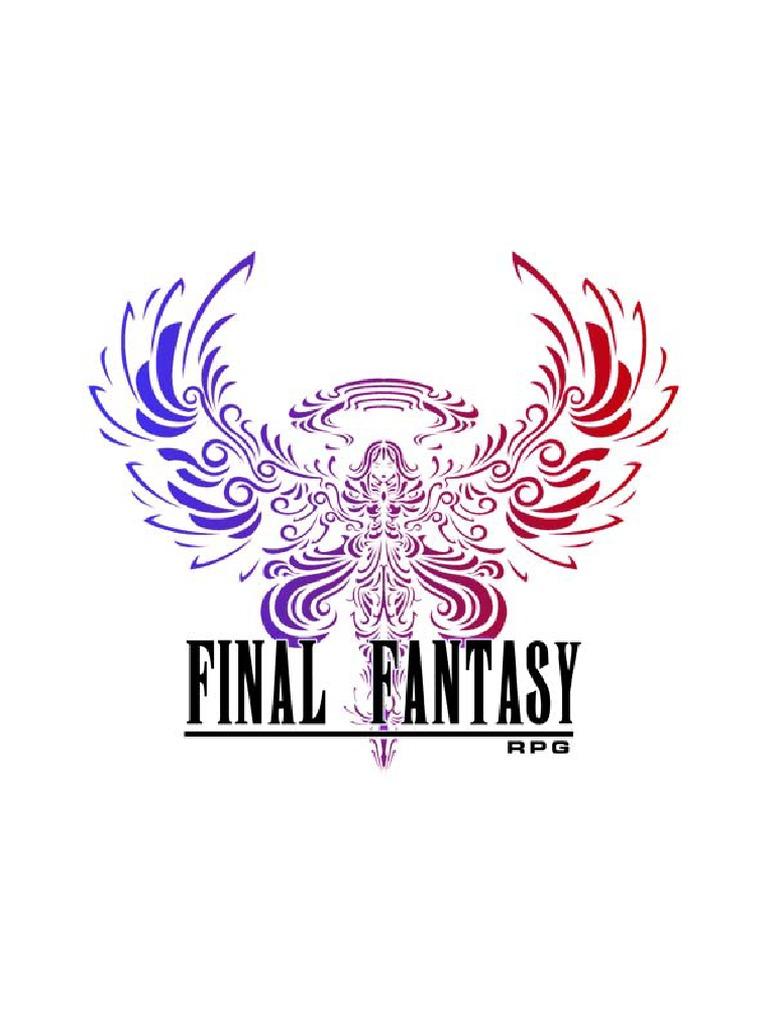 Final Fantasy RPG 3,5 Versão Impressão - By Fernanda Parker