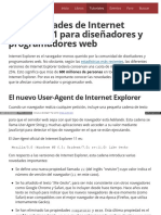 Tutorial Las Novedades de Internet Explorer 11