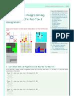Tic-tac-Toe - Java Game Programming Case Study