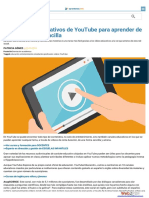 10 Canales Educativos de YouTube Para Aprender de Forma Sencilla