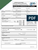 Form Registro Programas Ordenador