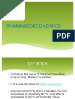 93638769-Pharmacoeconomics-Ppt