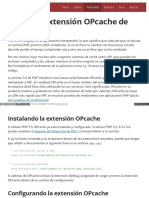 Tutorial La Nueva Extension Opcache de Php 55