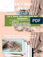 INTER-ACTIVE INSTRUCTIONAL MATERIALS GRADE 7 TLE(NAIL CARE)