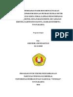 Proposal pengolahan bahan galian