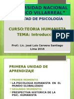1.-Introduccion Psic. Humanista