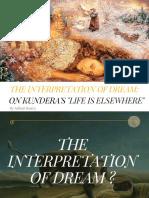 The Interpretation of Dream_ on Milan Kundera'Slife is Elsewhere2