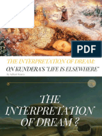 The Interpretation of Dream_ on Milan Kundera'Slife is Elsewhere2