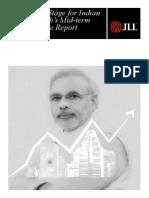 Modi'ss Mid-term Performance Report - JLL India