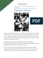 Hist_La Rebelión Cristera