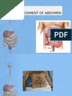 Assessment of Abdomen