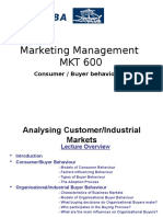 3 Analyzing Buyer Behaviour