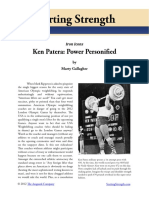 Ken Patera Weightlifting History by Marty Gallagher