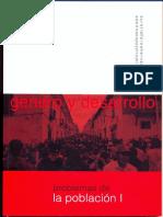 Genero y Desarrollo. Problemas de La Poblacion