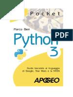PDF eBook Python 3 Di Marco Beri Libri in Italia