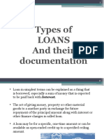 Loans and Documentation