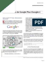 Manual de uso de Google Plus (Google+)