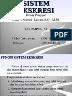 Ppt Sistem Ekskresi Kelompok 6