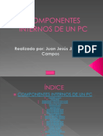 Componentes Internos de Un Pc