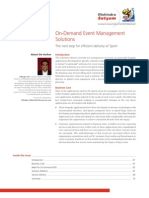On-Demand Event Management Solutions