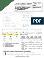 Evaluacion Final Primer Periodo Quimica Decimo