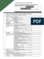 Fichas de Validación de PAT 2016
