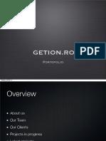 GETION.ro Portofolio