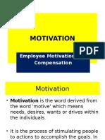 Motivation Compensatn