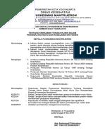 9.1.1.1 SK Kewajiban Tenaga Klinis Dalam Peningkatan Mutu Dan Keselamatan Pasien - Copy