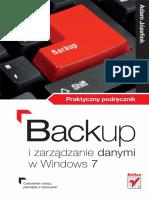 Backup i Zarządzanie Danymi w Windows 7. Praktyczny Podręcznik - Adam Józefiok
