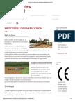 Processus de Fabrication, Briqueterie Traditionnelle Chimot