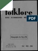 folklore Revue etnographique meridionale