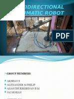 multidirectional pneumatic robot