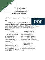 SATISH CV