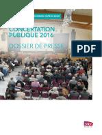Dossier Presse LN Pca Consertation Publique Comité de pilotage