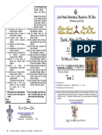 2017 - 23 April-2 Pascha -Tone 1-St Thomas-mat&Div Lit Hymns