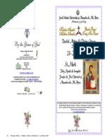 2017 - 25 April- St Mark - Mat&Div Lit Hymns