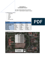 Topographic Survey Fieldwork Proposal