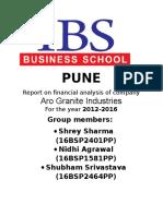 Aro Granite Report