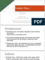 Referat Emboli Paru - Verdi Danutirto