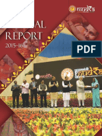 Annual Report of Mudra 2015-16