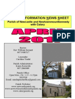 Newsletter April 2017 - The Parish of Newcastle & Newtownmountkennedy with Calary, Co. Wicklow, Ireland