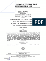 HOUSE HEARING, 104TH CONGRESS - H.R. 2661, DISTRICT OF COLUMBIA FISCAL PROTECTION ACT OF 1995