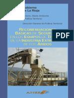 Recomendaciones Basicas d Seguridad n Ls Equipos d Trabajo n Industria Extractiva Aridos