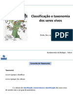 Aula 5 - Taxonomia