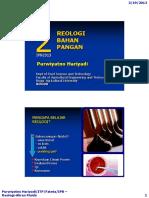 Teknik Pangan Reologi Fluida