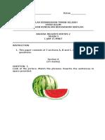 BI PAPER 2 YR 3 (1) Exam Paper 2